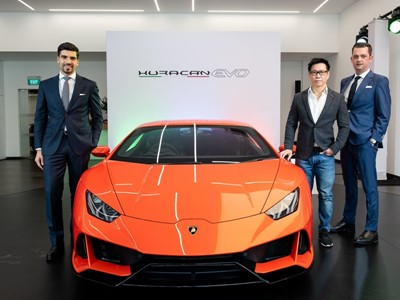 Lamborghini Huracán EVO debuts in Singapore: An elevation of technologies for amplified driving plea