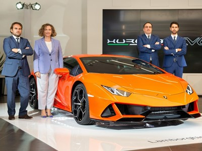 Lamborghini Sydney New Showroom Grand Opening and The Launch of new Lamborghini Huracán EVO