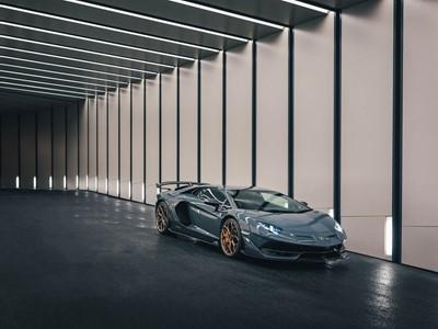 The new Lamborghini Aventador SVJ:  Mighty Arrival in Hong Kong, China