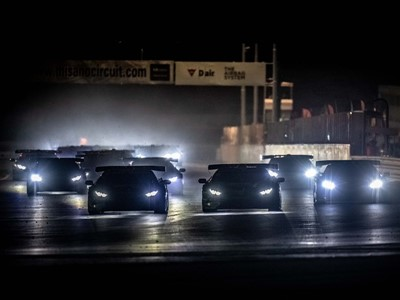 Galbiati and Postiglione seize points lead at Misano with second successive Lamborghini Super Trofeo