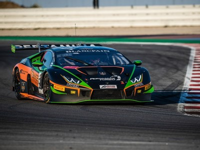Caldarelli and Mapelli give Lamborghini first Blancpain victory on European soil at Misano to close