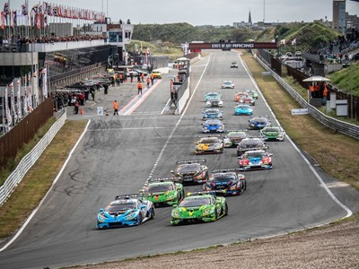 Flying Dutchman Kroes victorious on home soil with Afanasiev in first Lamborghini Super Trofeo Europ