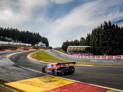 Lamborghini Super Trofeo returns to magical Spa-Francorchamps for the 11th year