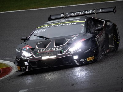 Barwell Motorsport gives Lamborghini Silver Cup victory for in heavily disrupted  24 Hours of Spa