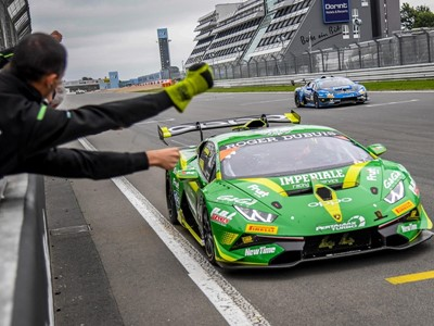 Postiglione/Galbiati complete Lamborghini Super Trofeo double at the Nürburgring