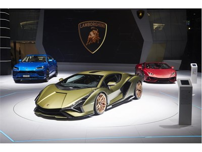 Automobili Lamborghini honors Ferdinand K. Piëch with Lamborghini Sián FKP 37 unveiled at IAA 2019 i
