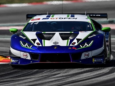 Lamborghini hold International GT Open points advantage ahead of final round following one-two in Ba