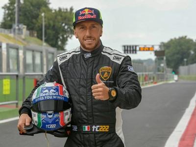 Lamborghini Super Trofeo: Emanuele Pirro and Tony Cairoli special crew at the World Final
