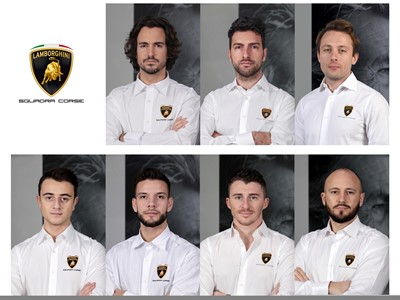 Lamborghini Squadra Corse presents the official drivers for 2020 Kroes named Best Young Driver of 20