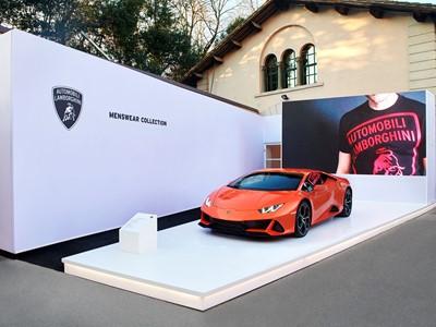Automobili Lamborghini Menswear Collection Fall Winter 2020