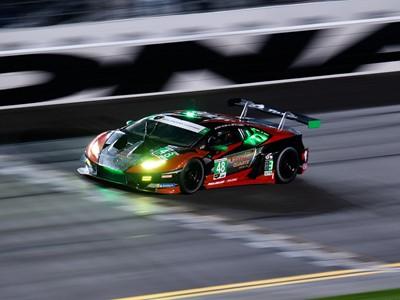 Lamborghini celebrates third victory at the 24 Hours of Daytona  with sensational one-two finish