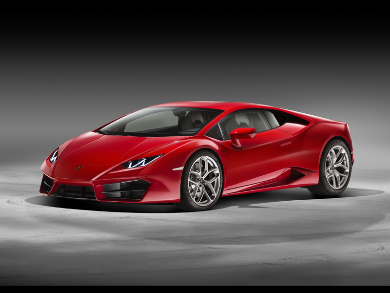 Huracán LP 580-2: 3-4 Front Red-LD