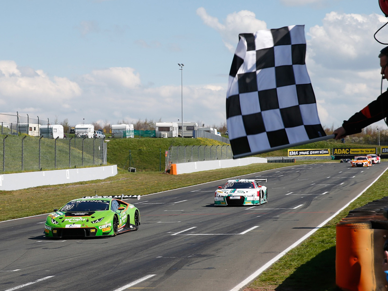 Grasser Racing victory