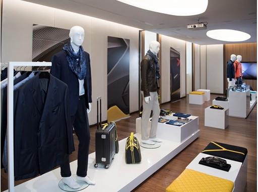 Collezione Automobili Lamborghini at Milano Fashion Week