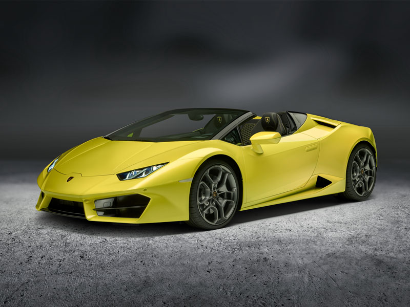 Huracan RWD Spyder 3-4 Front