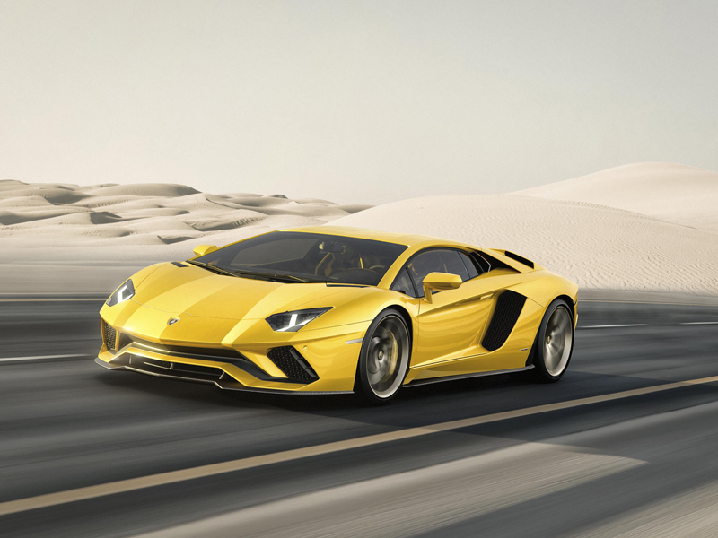 Aventador S Desert Front 10