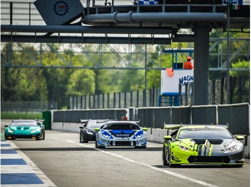 Monza testing