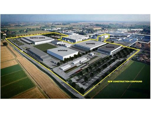New Automobili Lamborghini prodution site - EN