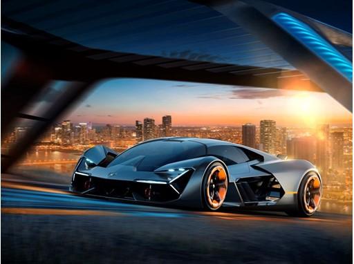 Lamborghini Terzo Millennio 3-4 Front