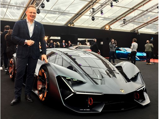 Mitja Borkert and the Lamborghini Terzo Millennio