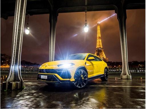 Urus in Paris Hero