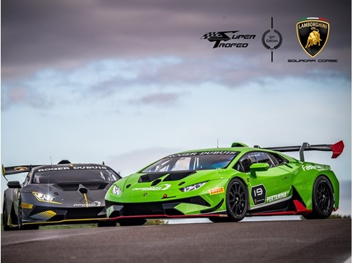 Lamborghini Super Trofeo 10th edition