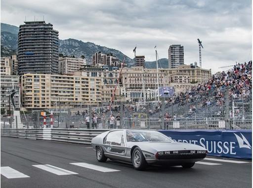 Lamborghini Marzal at Monaco Gran Prix Historique 2018