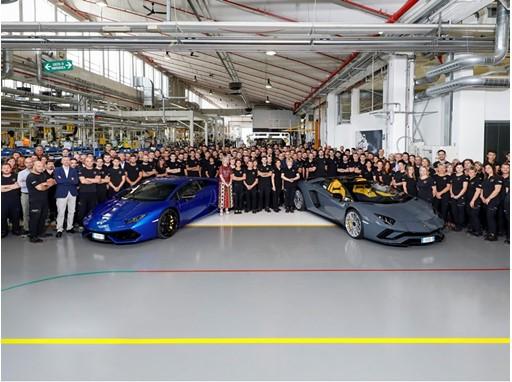 11.000 Huracán 8.000 Aventador