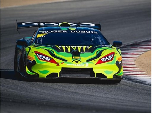 Lamborghini Super Trofeo North America at WeatherTeach Raceway Laguna Seca