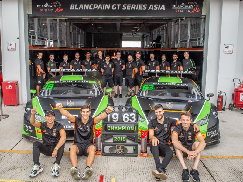 BLANCPAIN GT SERIES ASIA CHAMPIONS