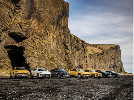 Lamborghini Avventura Iceland with Urus