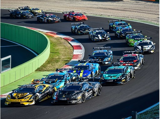 01 start AM-Lamborghini Cup