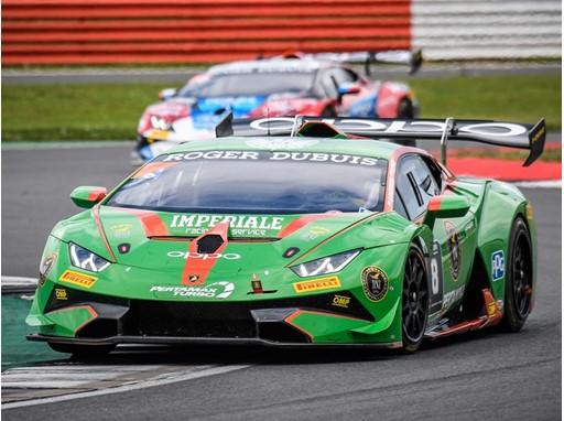 Lamborghini Super Trofeo Silverstone - Basz Padiewski