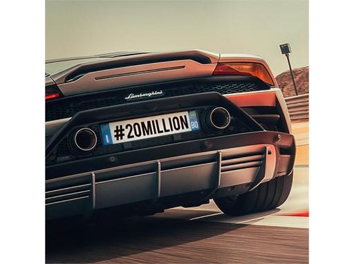 #20million Huracan