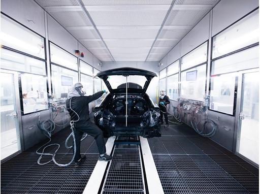 thenewsmarket com : Automobili Lamborghini inaugurates its new paint