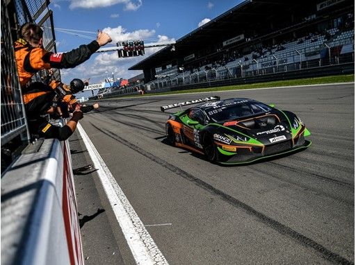 GT World Challenge Nurburgring Race 1 - Orange1 FFF Racing Lamborghini Huracàn Evo