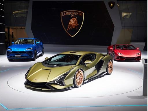 Automobili Lamborghini at IAA Frankfurt Motor Show 2019
