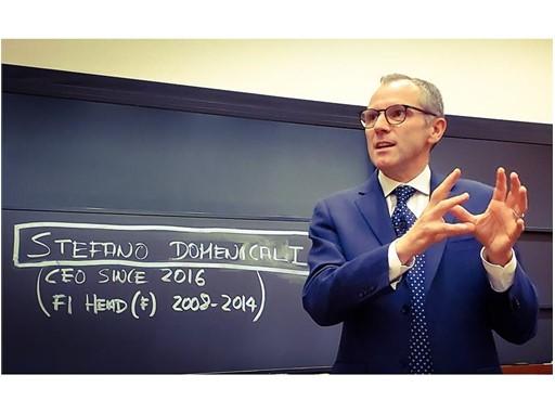 Stefano Domenicali at Harvard Business - 1