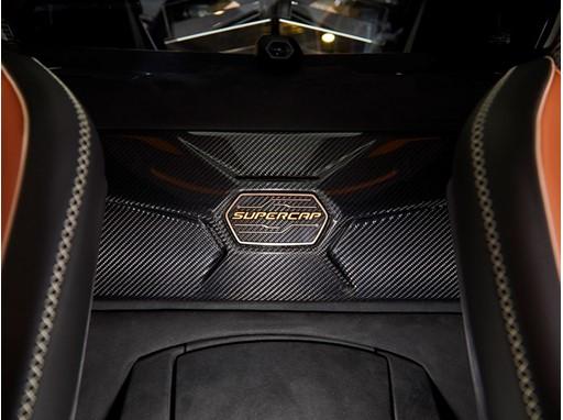 Lamborghini Sian supercapacitor