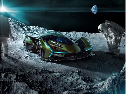 Lambo V12 Vision GT - Moon
