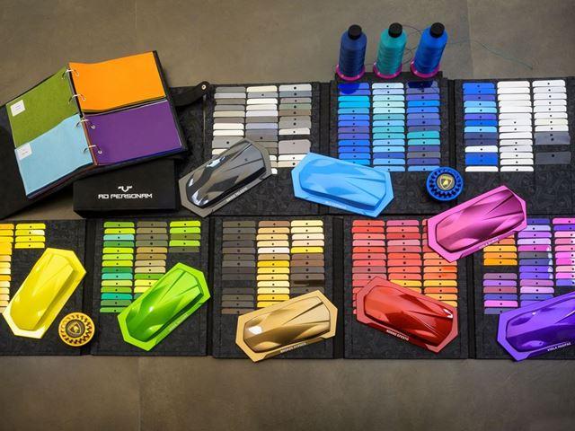01. Lamborghini - Ad Personam 348 colors