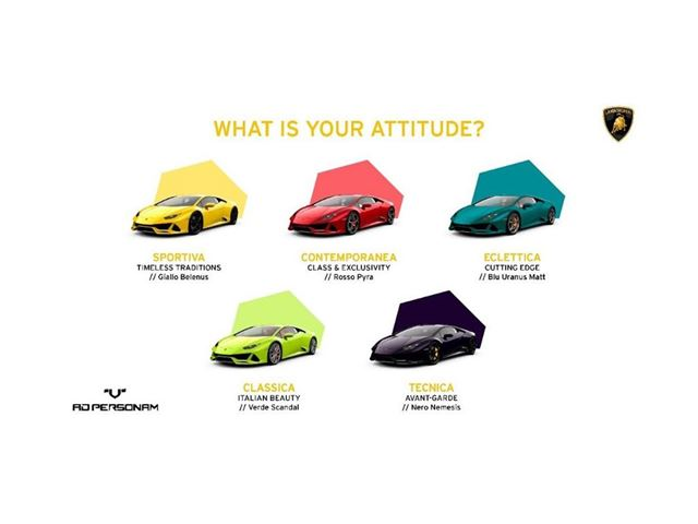 05. Lamborghini - Ad Personam 5 Families