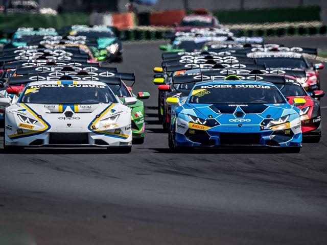 Lamborghini Super Trofeo - start