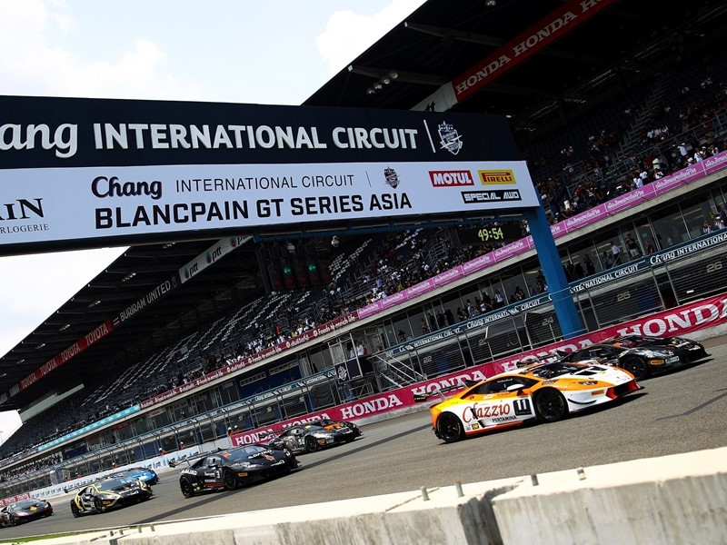 <b>Lamborghini</b> Media Center : Intense Race Action In Buriram As ...