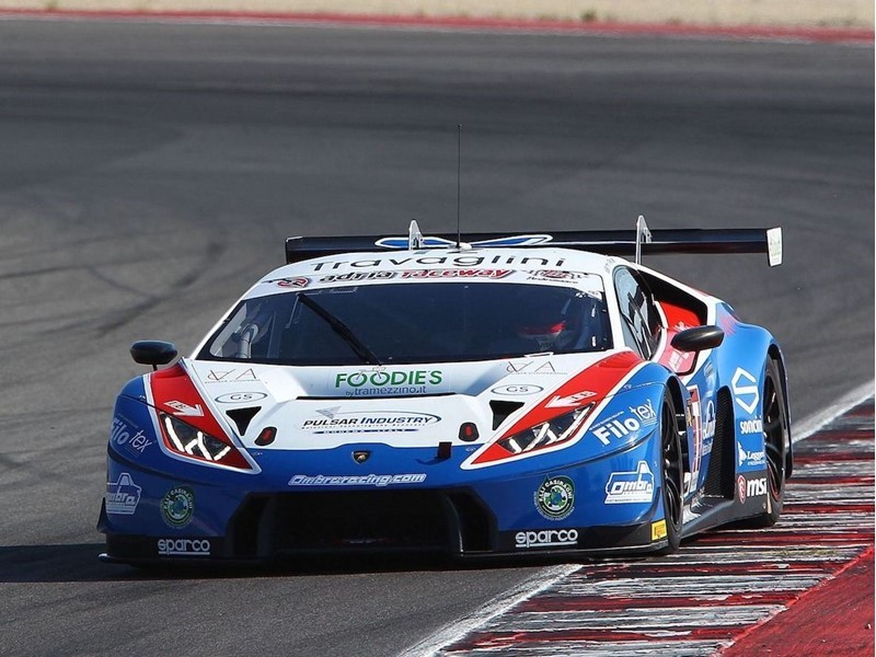 First victory of the season for the Lamborghini <b>Huracán</b> GT3 in the ...