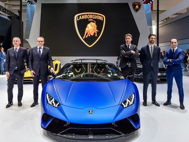 Lamborghini Media Center Automobili Lamborghini At 2018 Beijing