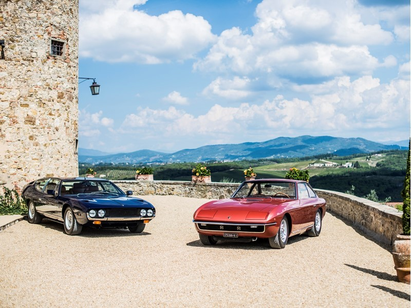 Lamborghini Media Center 50 Years Of Lamborghini Espada And Islero