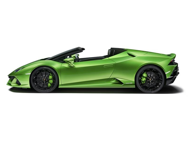 Lamborghini Media Center Huracan Evo Spyder
