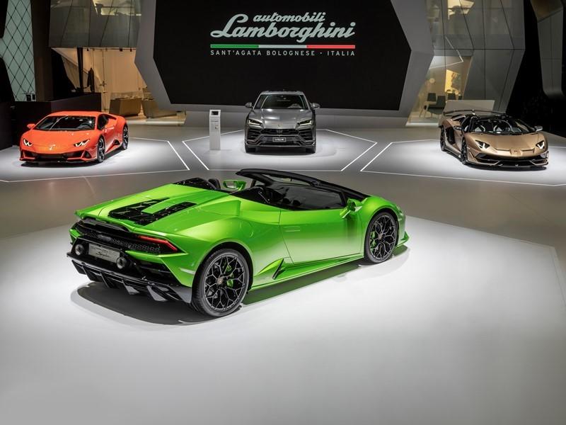 Lamborghini Media Center Automobili Lamborghini Unveils Two New