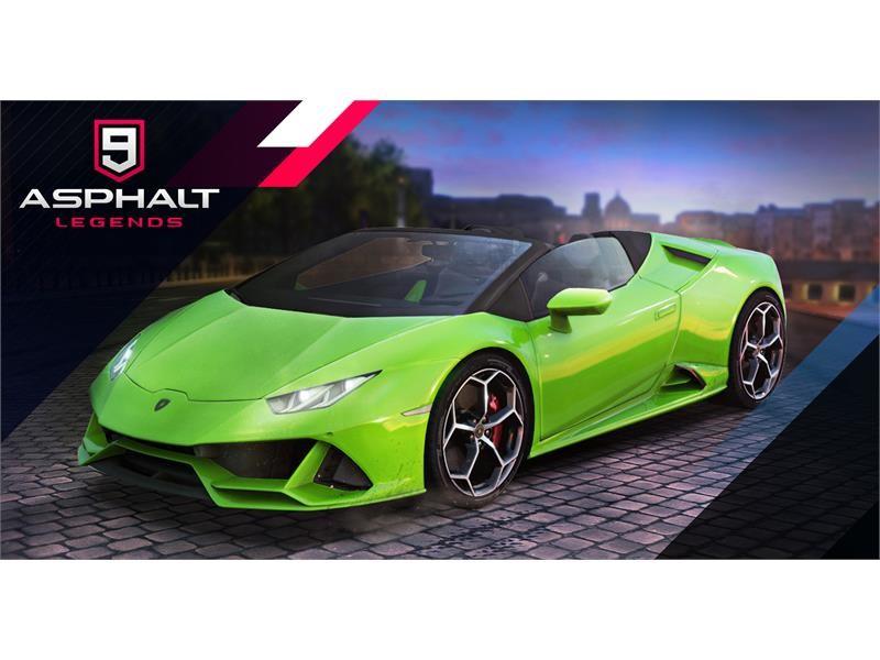 Lamborghini Media Center Asphalt 9 Legends Huracan Evo Spyder